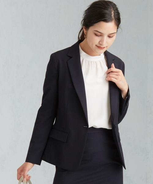 【WORK TRIP OUTFITS】◆WTO D TW/PU テーラードジャケット