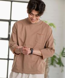 ハイショクプレーティング7分袖Tシャツ