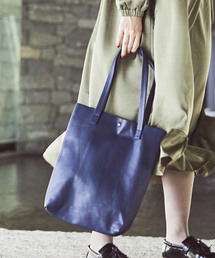 THE CASE(ザケース)の【THE CASE】LEATHER TOTE JUST(トートバッグ)