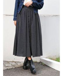 dazzlin(ダズリン)のフロントボタンマキシスカート(スカート)