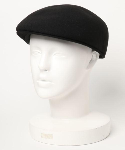 1 to 10 people(ワントゥテンピープル)の「1 to 10 people select/ビックサイズ ハンチング(ハンチング/ベレー帽)」|ブラック