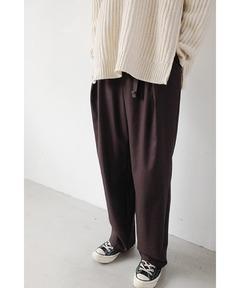 クラネ オム CLANE HOMME / 1タックワイドパンツ 1 TUCK WIDE PANTS