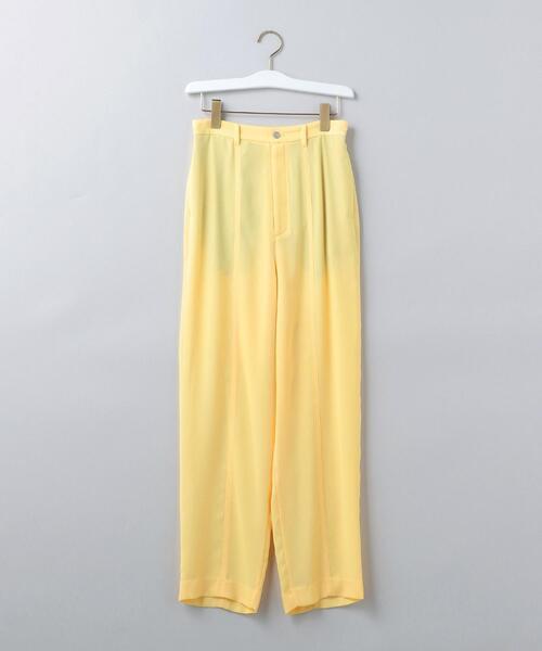 <6(ROKU)>SUKE GEORGETTE PANTS/パンツ