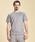 gym master(ジムマスター)の「Sweat Raglan Crew Neck Short Sleeve(Tシャツ/カットソー)」 ミックスグレー