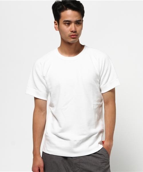 gym master(ジムマスター)の「Sweat Raglan Crew Neck Short Sleeve(Tシャツ/カットソー)」 ホワイト