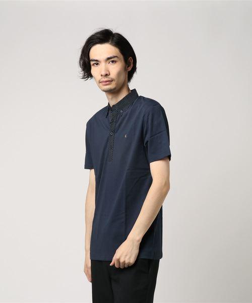 コットンポロシャツ