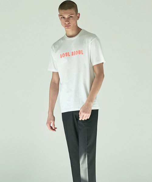 UNCENSORED SoulSeoulNEON 半袖Tシャツ