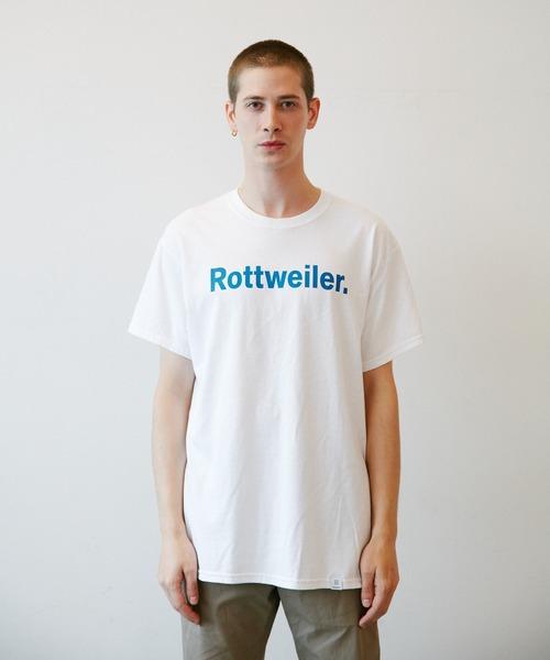 ROTTWEILER(ロットワイラー)の「R・W Tee(Tシャツ/カットソー)」|ブルー