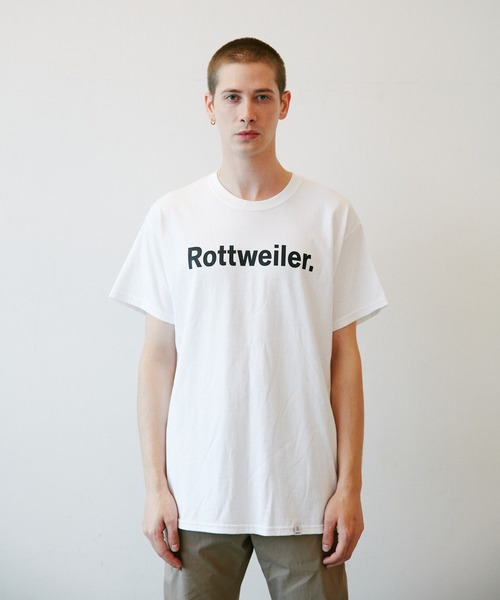 ROTTWEILER(ロットワイラー)の「R・W Tee(Tシャツ/カットソー)」 ブラック