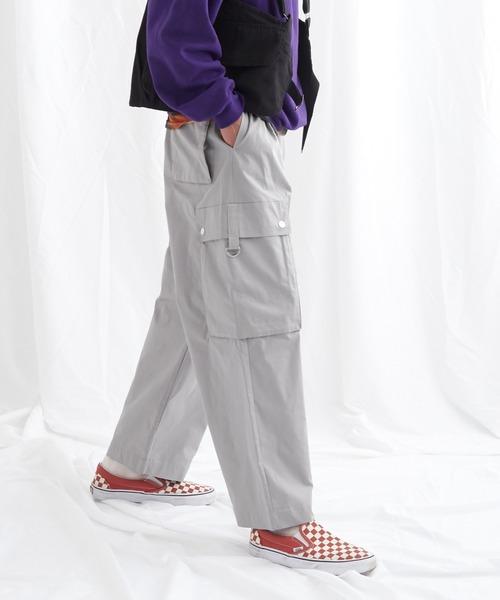 タックワイドカーゴパンツ EMMA CLOTHES 2021SPRING