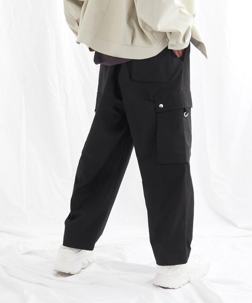 タックワイドカーゴパンツ EMMA CLOTHES 2021S/S