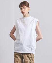 <HYKE(ハイク)>CORDURA ノースリーブ BIG FIT Tシャツ ■■■