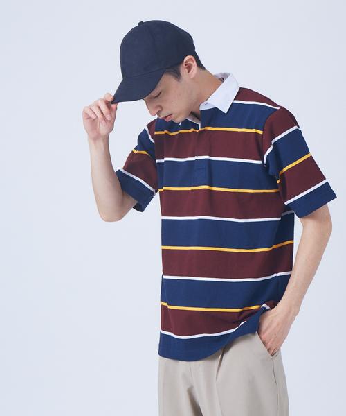 BARBARRIAN RUGBY SH/SL 半袖 ラガーシャツ