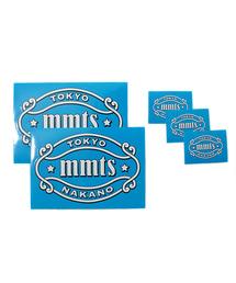 """mmts(マミタス)の「mmts / """"mmts"""" ロゴステッカー(ステッカー/テープ)」"""