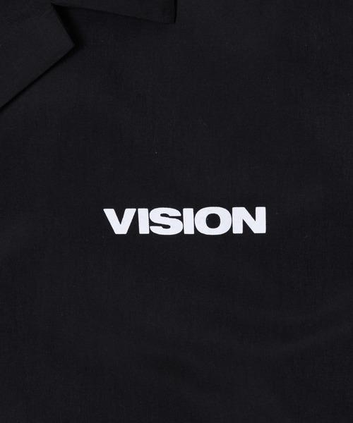 VISION STREET マグロゴ開襟シャツ