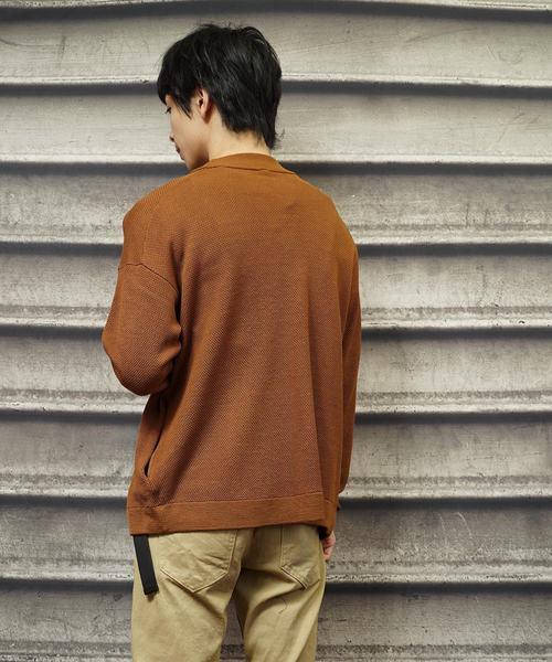 鹿の子編みカーディガン(IR)