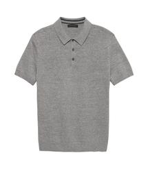 BANANA REPUBLIC(バナナリパブリック)のスーピマコットン セーターポロシャツ(ポロシャツ)
