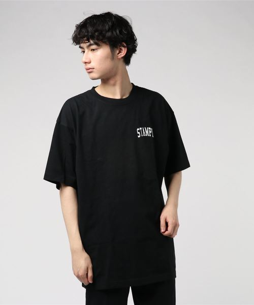 【STAMPD】COLLEGIATE TEE