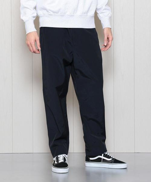 <H>COTTON NYLON BALOON PANTS/パンツ