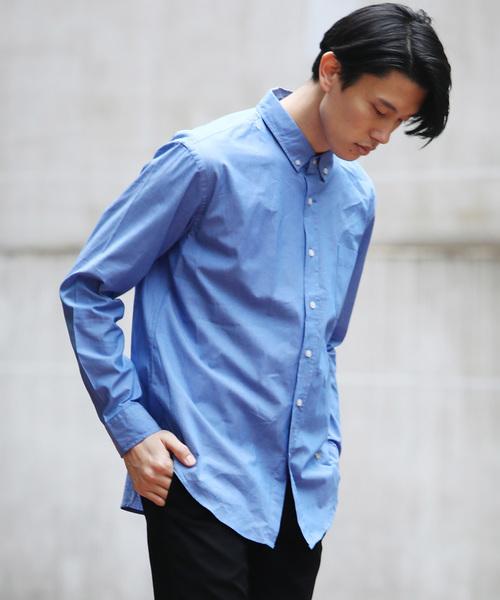 Ressaca(レサーカ)の「ブロードボタンダウンシャツ(シャツ/ブラウス)」 ブルー