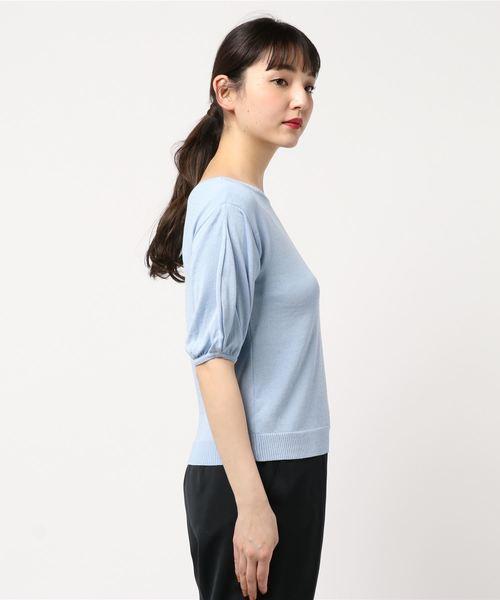 【Nouque】ボリュームスリーブセーター