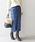 SHIPS(シップス)の「タータンチェックタイトスカート◆(スカート)」|ブルー