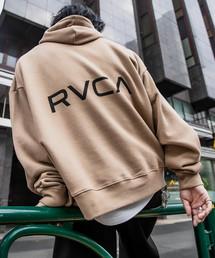 RVCA(ルーカ)のRVCA/ルーカ ビッグシルエットBACKロゴパーカー/バックロゴフーディ—(パーカー)
