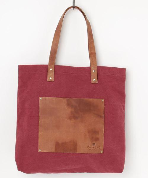 新発売の 【O MY BAG】LOUS/ロウス キャンバストートバッグ, 照明ストアエヌデンサービス c35020c2