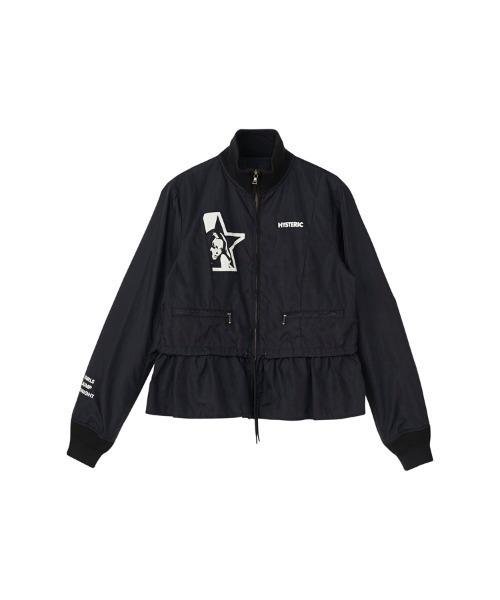 STAR WOMANスタンドカラージャケット