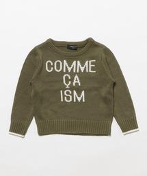 e40493cb1b27c COMME CA ISM(コムサイズム)の「ロゴニット(ニット・セーター)」 - WEAR