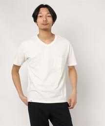 JAPAN BLUE JEANS(ジャパンブルージーンズ)のコートジボワールコットン VネックTシャツ(Tシャツ/カットソー)