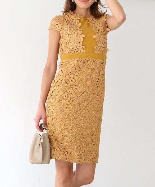経典 【セール】パネルレースドレス(ドレス)|AMBIENT(アンビエント)のファッション通販, ワイエムエス大阪:5a8c6c63 --- munich-airport-memories.de