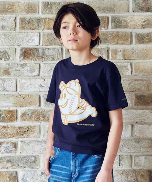 ★【ジュニア】〔別注〕TAMANIWA BOY Tシャツ