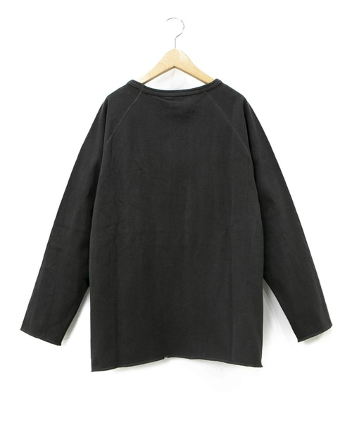 A HOPE HEMP/アホープヘンプ  RAGLAN LIGHT SWEAT