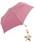 Wpc.(ダブルピーシー)の「【Wpc.】オンライン限定無地アンブレラ(晴雨兼用) スターチャームmini(折りたたみ傘)」|スモークピンク
