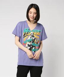 NOTHING REALLY MATTERS pt ビッグVネックTシャツ