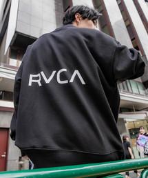 RVCA(ルーカ)の▽RVCA/ルーカ ビッグシルエットBACKロゴクルーネックスウェット/バックロゴスウェット(スウェット)