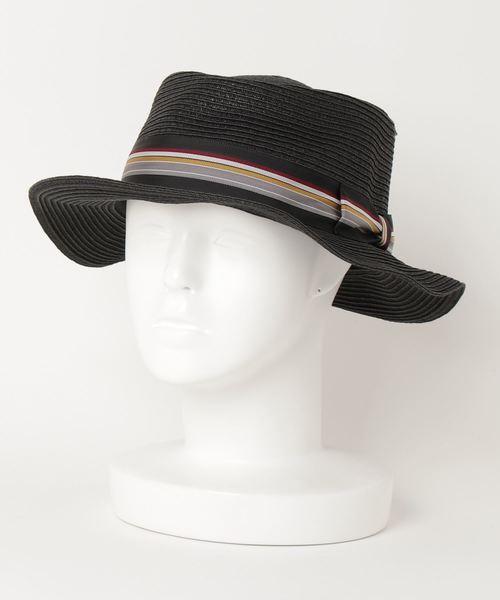 【 JABURO / ジャブロー 】PAPER BRADE HAT ペーパーブレード ハット カンカン帽
