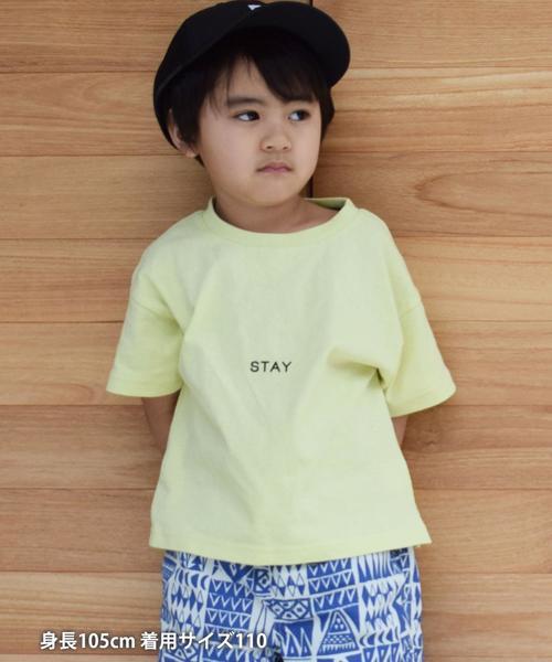 【coen キッズ / ジュニア】GOOD OL メッセージロゴTシャツ