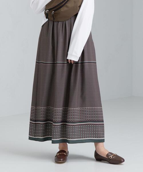 CFC パネルプリント スカート