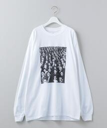 <6(ROKU)>LIFE PHOTO THEATER LONG SLEEVE T-SHIRT/Tシャツ