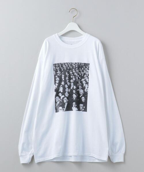 <6(ROKU)>LIFE PHOTO THEATER LONG SLEEVE T-SHIRT/Tシャツ