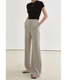 【Fano Studios】【2021SS】Wide straight suit pants FX21K023ベージュ