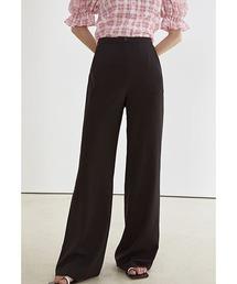 【Fano Studios】【2021SS】Wide straight suit pants FX21K023ブラック
