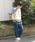 niko and...(ニコアンド)の「Nパネル切り替えBIGプルオーバー【niko and ...】(Tシャツ/カットソー)」|詳細画像