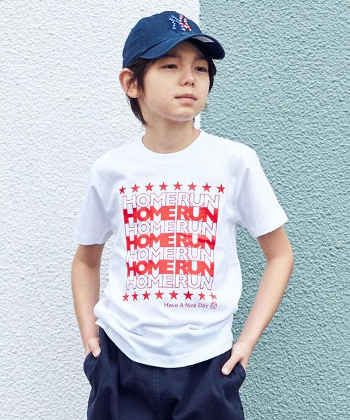 ★【ジュニア】〔別注〕TAMANIWA HOMERUN Tシャツ