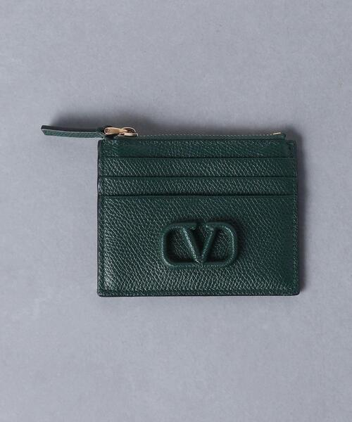 <VALENTINO(ヴァレンティノ)>Vロゴ コイン カードケース ■■■