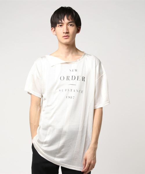 RAF SIMONS ラフ シモンズ / NET TEE NEW ORDER PS