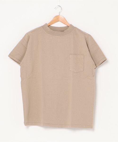 GOODWEAR / グッドウェア モックネック ショートスリーブTシャツ