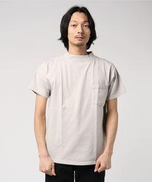 GOODWEAR / グッドウェア モックネック ショートスリーブTシャツグレー系その他